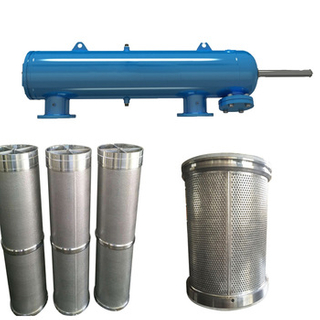 SS904L Duplex stee 2205 filter for sea water self-cleaning machine