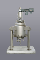 Immobilized enzyme reaction separator (solid-solid-liquid separator)
