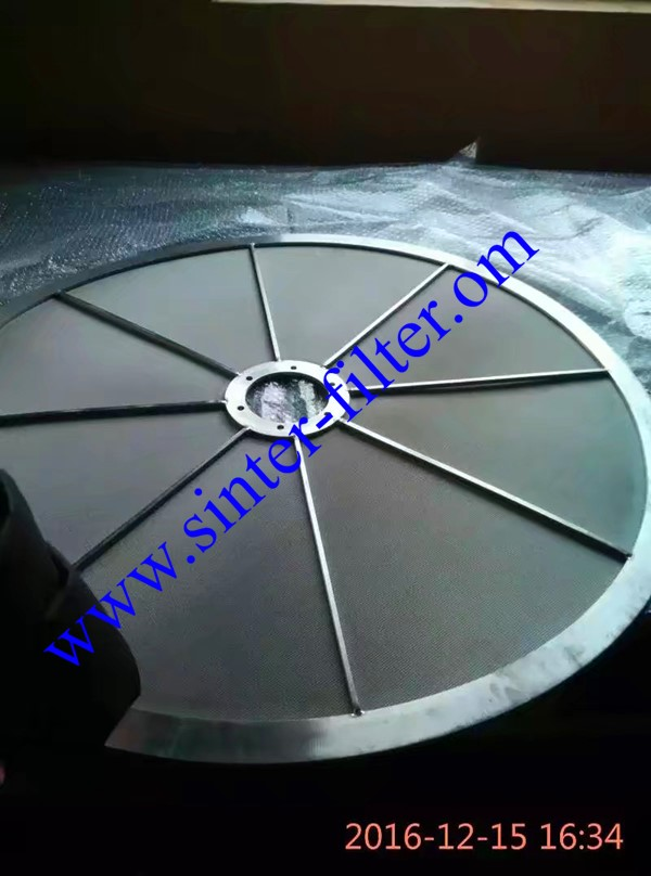 sintered mesh filter discs pharmacy industry_副本