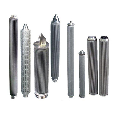Sintered Metal Stainless Steel Wire Cloth Filter Cartridge for Filter Oil Solid Liquid